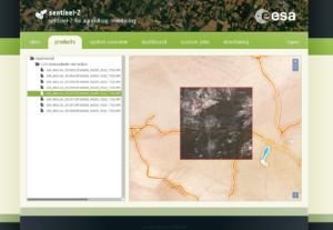 Sen2Agri Web Interface
